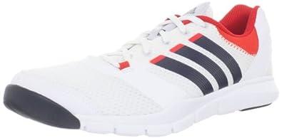 adidas Men's A.T. 180 Cross-Training Shoe,Running White/Tech Onyx/Core Energy,13 M US