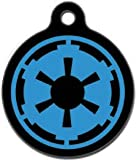 Platinum Pets Star Wars 1.5-Inch Smartphone Pet ID Tag with GPS, Imperial Logo Design