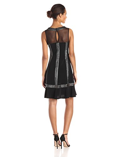 s-l-fashions-women-s-illusion-top-cocktail-dress-black-silver-10