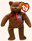 Ty Britannia the UK Bear - Ty Teenie Beanie (McDonald's Premium Intl. Bears 1999)