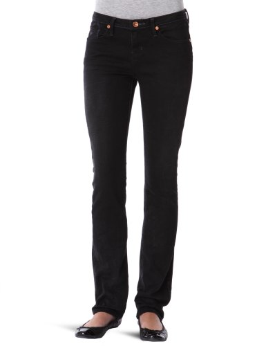 Quiksilver  - Pantalones vaqueros para mujer, tamaño W26, color negro