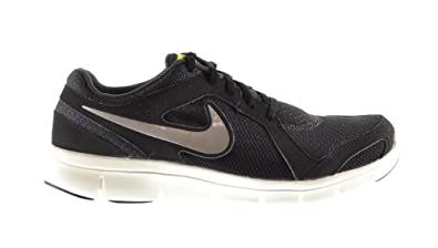 Nike Flex Experience Run 2 Men's Shoes Anthracite/Metallic Clay Grey-Black-Sonic Yellow 599517-003 (8 D(M) US)