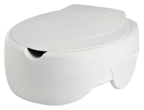 Toilettensitzerhöher, Soft, mit Deckel, Sitzerhöhung WC vom Stock-Fachmann
