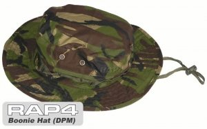 Military Boonie Hat (British Disruptive Pattern Material - DPM) (Regular size) - paintball apparel