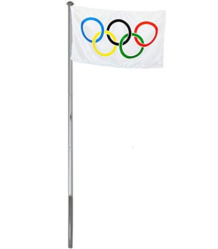 brubaker-pennone-in-alluminio-pennone-4-m-con-bandiera-della-germania-olympia-bandiera-150-x-90-cm-e