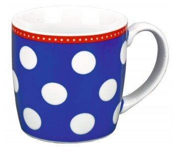 Spiegelburg 10897 Tasse Große Punkte, blau