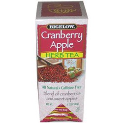 R C Bigelow Cranberry Apple Herbal Tea (03-0299) Category: Tea from R C Bigelow Inc