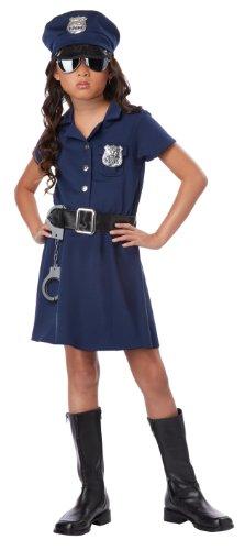 California Costumes Police Officer Child Costume, Medium