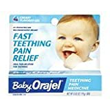 Baby Orajel Teething Pain Medicine, Gel, Cherry Flavor