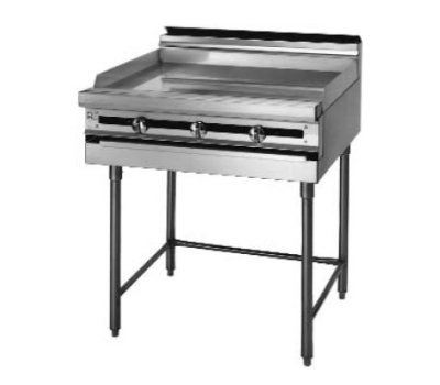 "Blodgett Bpm-12Gt Gas 12"" Heavy Duty Range With Griddle, Modular Base front-624686"