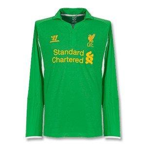 Liverpool Home Goalkeeper Football Shirt 201213 by Warrior