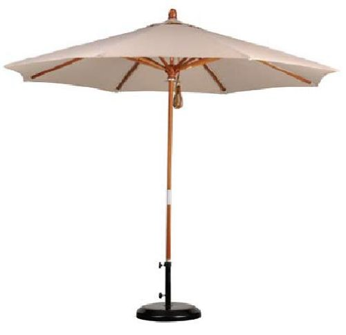 California Umbrella MARE908-5453 9-Feet Sunbrella
