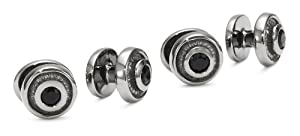 ROTENIER Black Onyx Bearing Studs Set