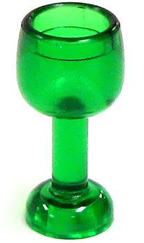 LEGO LOOSE Accessory Emerald Goblet