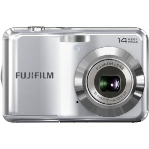Fujifilm FinePix AV200 14 Megapixel Compact Camera - Silver. FINEPIX AV200 SILVER 14MP 3X WIDE ZOOM HD MOVIE CAMERA. 2.7' LCD - 3x Optical Zoom - Electronic (IS) - 4288 x 3216 Image - 1280 x 720 Video - Motion JPEG (AVI) - PictBridge