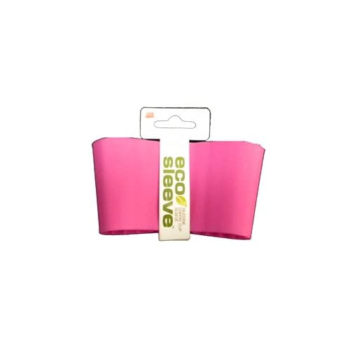 Eco I Am Not a Paper Cup Replacement Protective Heat Sleeve Pink