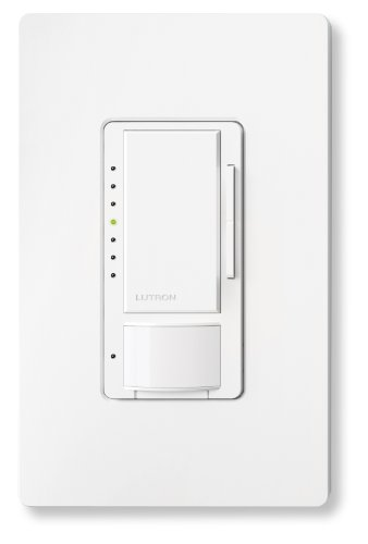 sensor occupancy light switch and dimmer white best home automation. Black Bedroom Furniture Sets. Home Design Ideas