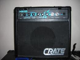 crate mx 10 electric guitar amplifier great small amp 12 x 12 x 6 musical. Black Bedroom Furniture Sets. Home Design Ideas