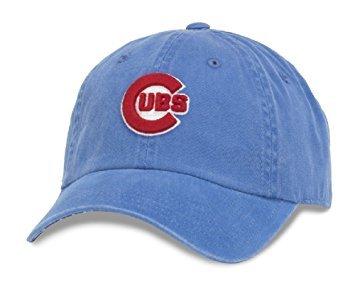 "American Needle MLB ""New Raglin"" Cotton Twill Adjustable Crew Hat Cap"