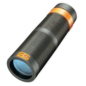 Bear Grylls 9x32mm Monocular Black Roof, WP, FC