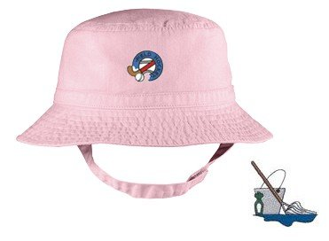 Embroidered Infant Bucket Cap with the image of: cleaning logo