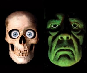 Skully And Green Demon Prop (Skully And Green Demon)