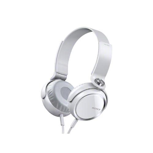SONY MDR-XB400 WHITEの写真01。おしゃれなヘッドホンをおすすめ-HEADMAN(ヘッドマン)-