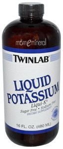 Liquid Potassium, Liqui-K, Unflavored, 16 fl oz (480 ml) by Twinlab