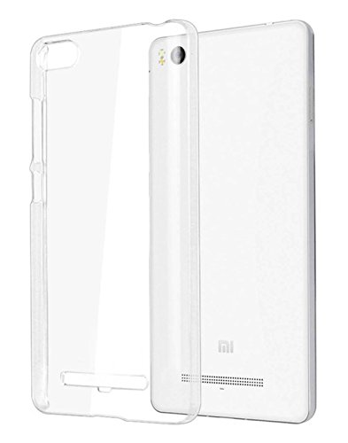 Uni Mobile Care Premium Quality Soft Silicon Transparent Back Cover Case For Xiaomi Mi 4i Mi4i