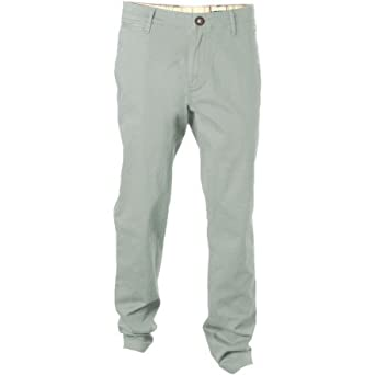 Volcom - Mens Clearwater Chino Pant, Size: 33, Color: Grey Blue