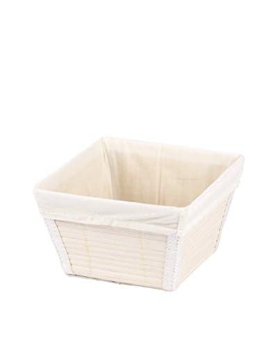 Wenko Aufbewahrungskorb set van 4 wit