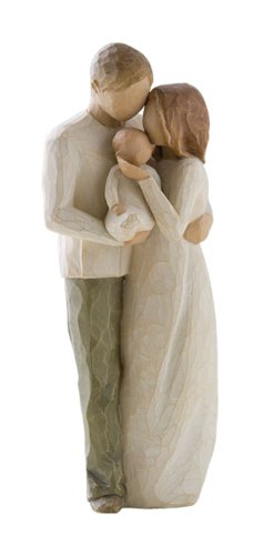Willow Tree Our Gift, New Parents Figurine, Susan Lordi 26181