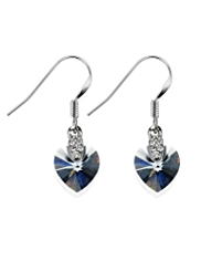 Autograph Shine Heart Drop Earrings MADE WITH SWAROVSKI® ELEMENTS