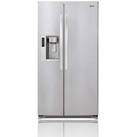 Lg Lsc24971st 24 Cu. Ft. Side By Side Refrigerator / Freezer - Stainless Steel