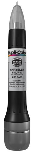 Dupli-Color Acc0410 Metallic Bright Silver Chrysler Exact-Match Scratch Fix All-In-1 Touch-Up Paint - 0.5 Oz.