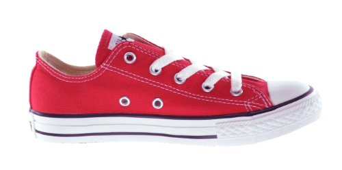 Converse C/T All Star OX Little Kids Fashion Sneakers Red 3j236-11.5