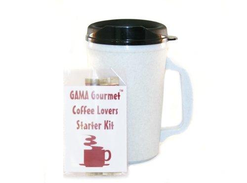 20 Oz Thermoserv Foam Insulated Coffee Mug- Granite