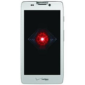 Motorola DROID RAZR HD 4G Android Phone, White (Verizon Wireless)