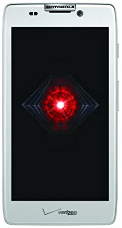 Motorola DROID RAZR HD, White (Verizon Wireless)
