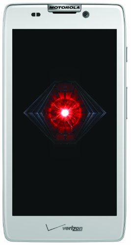 Motorola DROID RAZR HD 4G Android Phone, White (Verizon Wireless)