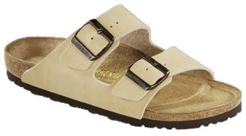 Birkenstock Slipper ''Arizona'' aus Birko-Flor in Sand