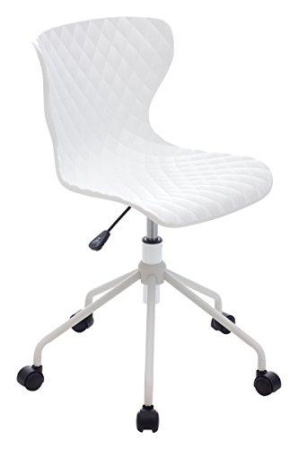 My_office COMICS Sediolina, Poliuretano, Bianco, 60x43x84 cm