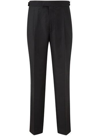 Austin Reed Regular Fit Single Pleat Dress Trousers REGULAR MENS 40