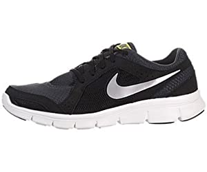 Nike Men's NIKE FLEX EXPERIENCE RN 2 RUNNING SHOES 10.5 Men US (ANTHRCT/MTLC CL GRY/BLK/SNC YL)
