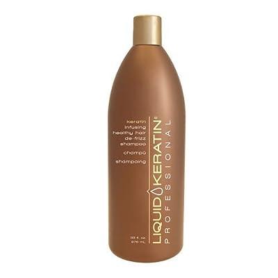 Liquid Keratin Professional Keratin Infusing Healthy Hair De-Frizz Shampoo