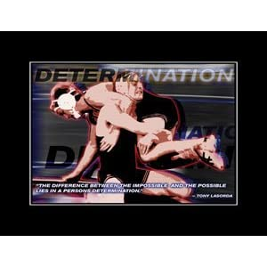 Determination Motivational Poster on Com  Wrestling Motivational Poster Determination  Everything Else