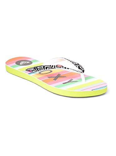 Roxy Women'S Mimosa V Flip Flop,Lime,9 M Us front-1002429