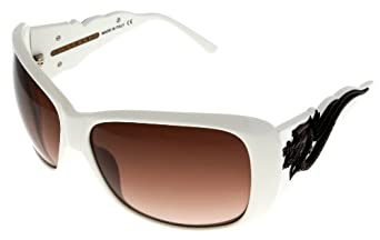 John Richmond Sunglasses Womens JR674 03 White