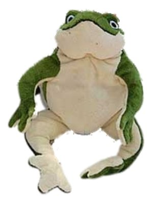 Dog Squeak Toy Frog 12″ Plush Dog Toy