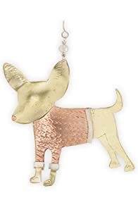Pilgrim Imports Chihuahua Metal Fair Trade Ornament